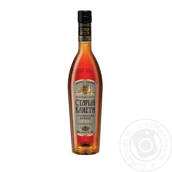 Staryi Kakheti 3 stars Cognac 40% 0,5l - buy, prices for Novus - image 1