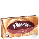 Салфетки Kleenex Ультрасофт в коробке - купить, цены на Таврия В - фото 1