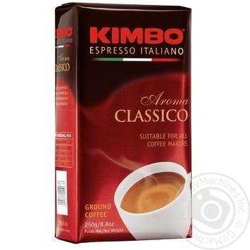 Kimbo Aroma Classico ground coffee 250g - buy, prices for MegaMarket - image 1