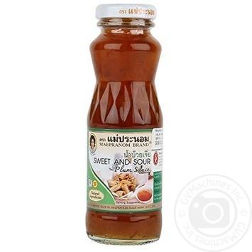 Соус Maepranom brand кислосладкий сливовый 300мл - купить, цены на Ашан - фото 8