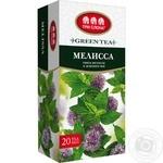 Чай Три слона зелений з мелісою 20пак