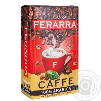 Ferarra 100% Arabica Ground Coffee 250g - buy, prices for Novus - image 1