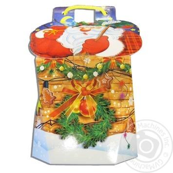 Новогодний подарок Конти в виде рюкзачка 402г - купить, цены на Novus - фото 1