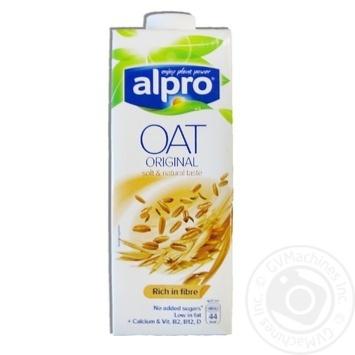 Напиток овсяный Alpro с кальцием и витаминами 1л