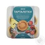 Печиво здобне пісочно-виїмкове Тарталетки NOVUS  180г