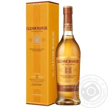Виски Glenmorangie Original 10 лет 40% 1л - купить, цены на Метро - фото 1