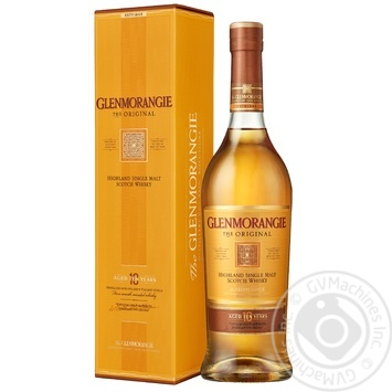 Виски Glenmorangie Original 10 лет 40% 0.5л