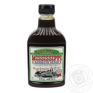 Соус барбекю Mississippi Сладкий яблочный 510г