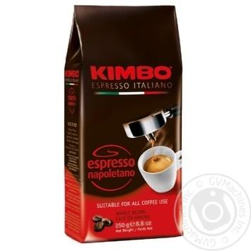 Kimbo Espresso Napoletano Whole Beans Coffee 250g - buy, prices for MegaMarket - image 1