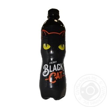 Энергетический напиток Black Cat сильногазированый 0.5л - купить, цены на Ашан - фото 2
