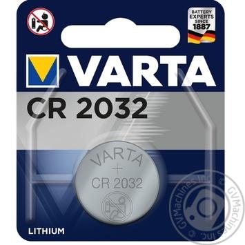 Батарейка VARTA Lithium CR 2032 BLI 1шт