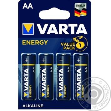 Батарейка VARTA Energy AA BLI 4шт