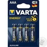 VARTA Energy AAA BLI 4 battery