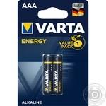 Батарейка VARTA Energy AAA BLI 2шт
