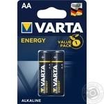 Батарейка VARTA Energy AA BLI 2шт