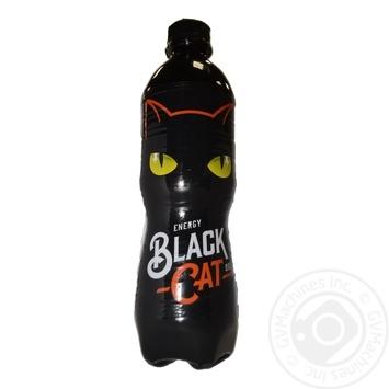 Энергетический напиток Black Cat сильногазированый 0.5л - купить, цены на Ашан - фото 1