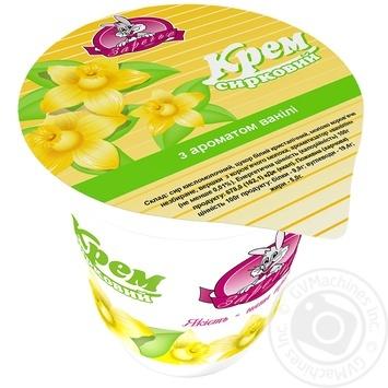 Крем творожный Заречье с ароматом ванили 5% 150г - купить, цены на Ашан - фото 2