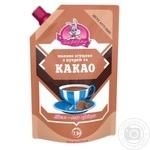 Молоко сгущенное Заречье с сахаром и какао 7,5% 270г