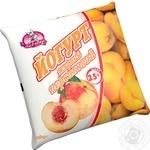 Йогурт Заречье персик 2,5% 450г