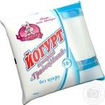 Йогурт Заречье Традиционный без сахара 1% 450г