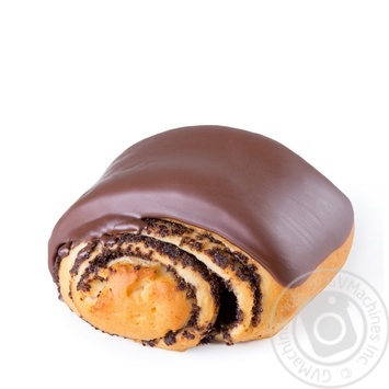 Булочка с маком и шоколадом 70г