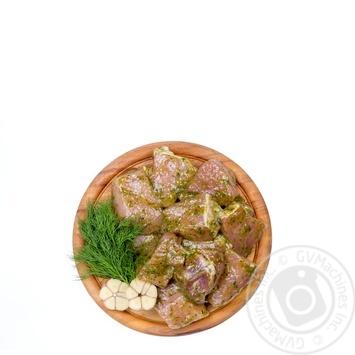 Шашлык свиной в маринаде охлажденный