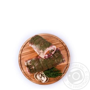 Рулет свиний свіжість охолоджений ваг