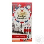 Tea Lovare English breakfast black packed 24pcs 48g cardboard packaging