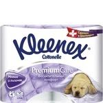 Туалетная бумага Kleenex Cottonelle Premium Care
