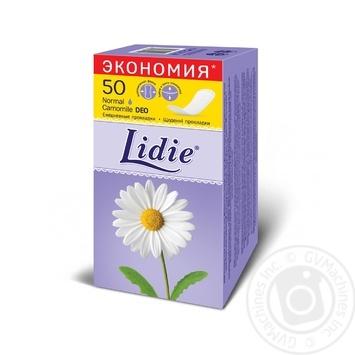Прокладки ежедневные Lidie Deo 50шт