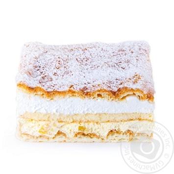 Пирог с заварным кремом и персиками - купить, цены на Novus - фото 1