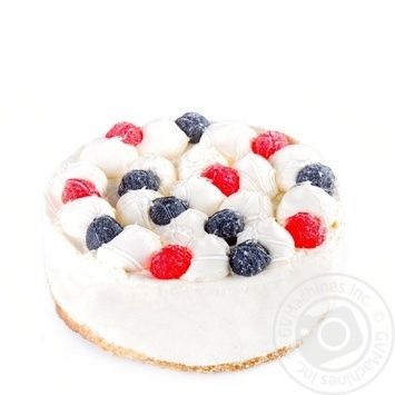 Торт с маскарпоне и малиной - купить, цены на Novus - фото 1