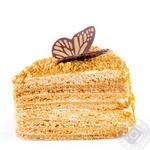 Пирожное Медовое - купить, цены на Novus - фото 1