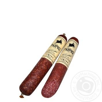 Колбаса Ранчо Сушеная с филе сырокопченая 1/с 340г - купить, цены на Novus - фото 1