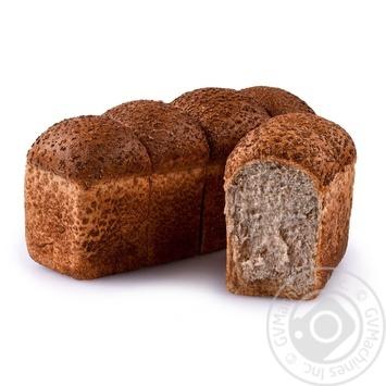 Хлеб отрубной на закваске 650г - купить, цены на Novus - фото 1