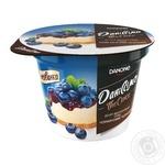 Danissimo blueberry cheesecake curd dessert 6% 230g