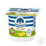 Творожок Простоквашино для малышей Банан с бифидобактериями 3,4% 100г