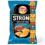 Чипсы Lay's Strong со вкусом зажигательные колбаски 120г