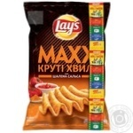 Чипсы Lay's Max Паприка 120г