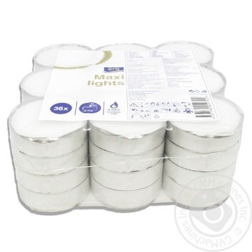 Aro candle 36pcs - buy, prices for Metro - image 2