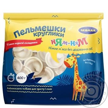 Пельмешки Левада Ням-Ням Круглики 400г - купить, цены на Novus - фото 1