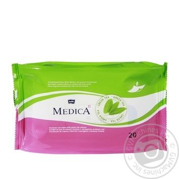 Серветки Bella Medica для інтимної гігієни 20шт - купити, ціни на МегаМаркет - фото 2