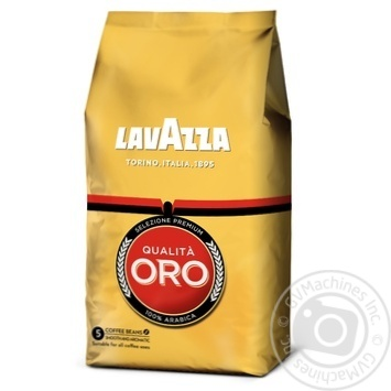 Кофе Lavazza Qualita Oro 100% арабика в зернах 1000г - купить, цены на Метро - фото 1