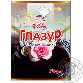 Dobrik Glaze Chocolate 75g - buy, prices for Novus - image 1