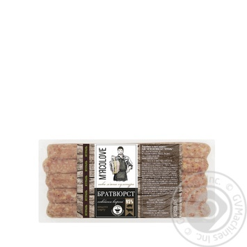 Yatran with sun-dried tomatoes and cheese boiled sausages 420g - buy, prices for Furshet - image 1