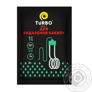 Turbochist Descaling agent 30g - buy, prices for Novus - image 1