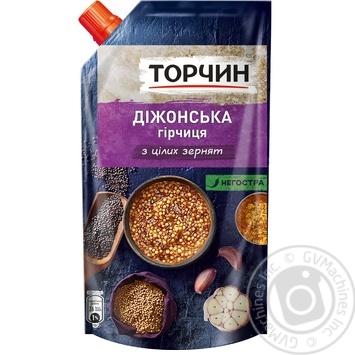 Гірчиця ТОРЧИН® Діжонська 130г - купити, ціни на Novus - фото 1