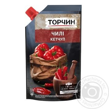 Кетчуп Торчин Чили 270г - купить, цены на Novus - фото 1