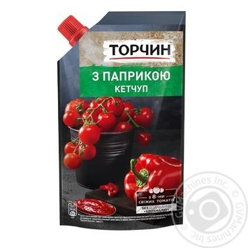 Кетчуп Торчин с паприкой 270г - купить, цены на Novus - фото 1