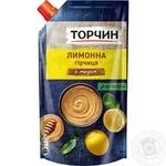 Горчица Торчин Лимонная с медом 115г - купить, цены на Novus - фото 1